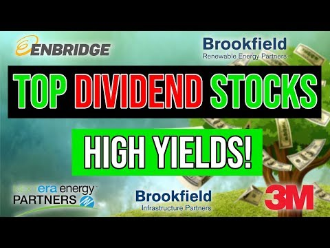 Top 5 Dividend Yield Stocks For 2019 💸