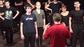 Уроки сценическое движение - театр студия Квадрат