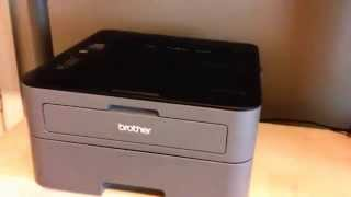 Part 2 - Review and test print of Brother HL-L2320D laser printer