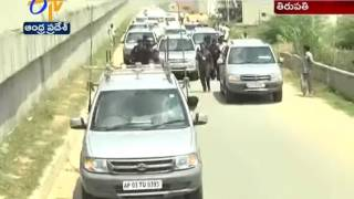 No Safety for CM Chandrababu  Convoy : Report
