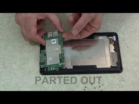 Teardown of the Sprint Slate 8 AQT80 Tablet Parted-Out