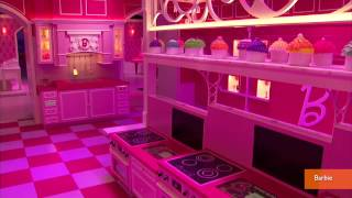 Barbie's Life-size Dream House Opens To Public