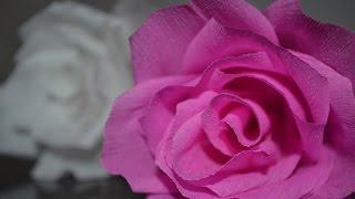 Роза из бумаги  -  Розы цветы из гофрированной бумаги(Роза из бумаги, Розы цветы из гофрированной бумаги, роза из бумаги оригами, роза из бумаги своими руками,..., 2016-01-02T10:48:49.000Z)