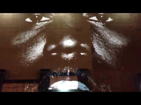 Kanye West - New Slave - 6th Studio Album 1st Track Projection SoHo NYC