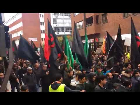 Just another day in Sweden: Shiite Muslims march for Sharia law