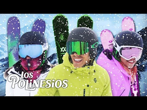 WE SKIED FOR THE FIRST TIME   POLINESIOS VLOGS