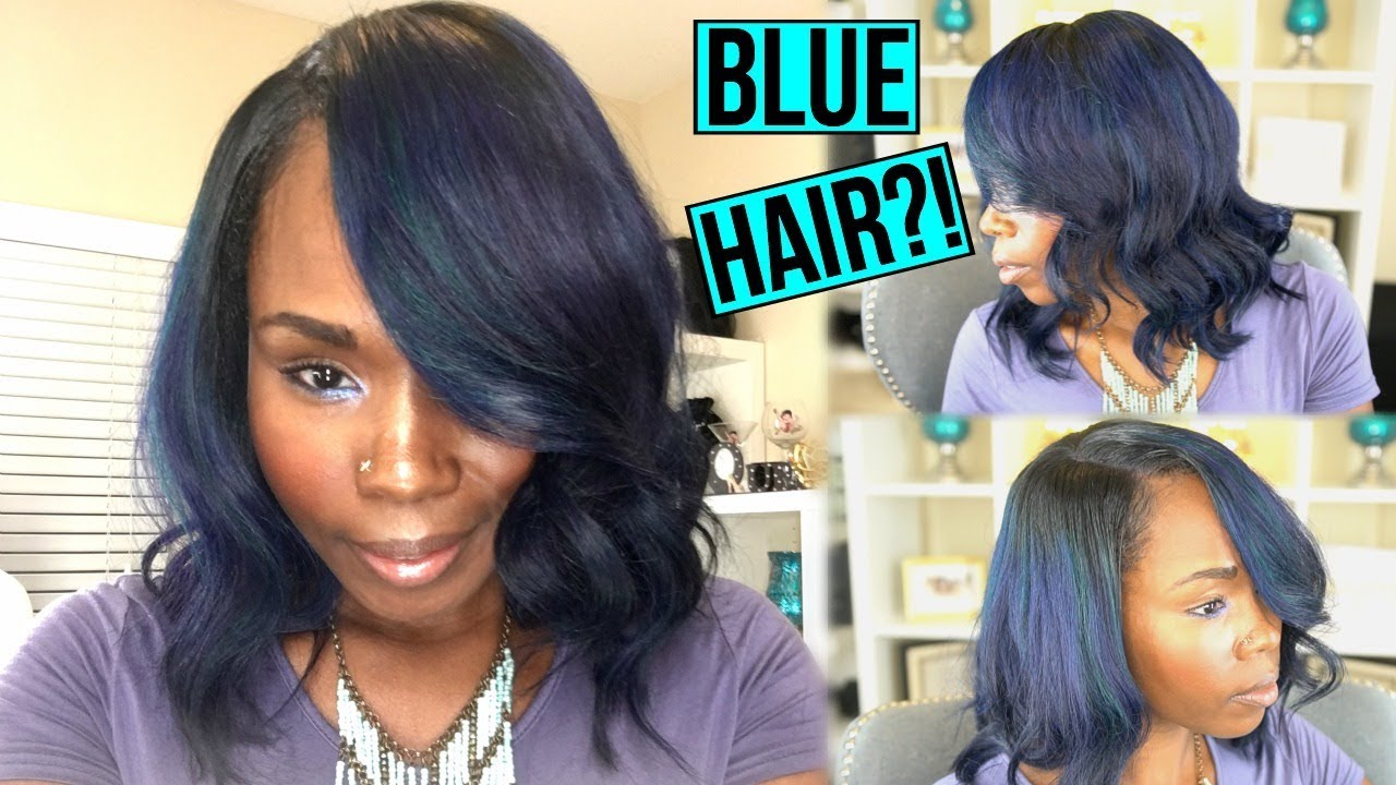 Blue Hair Color Change Or Nah Watch Me Transform With My New Hair