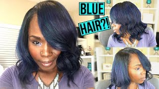 BLUE Hair Color Change or Nah !   Watch Me Transform With My NEW HAIR!