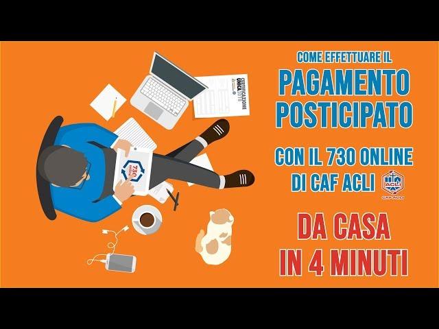 VIDEO 4 - Verifica e invia il tuo 730 online con Caf Acli