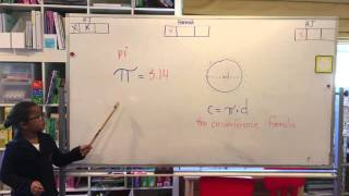 Intelligent 6 yr old teaches us about Pi Day!