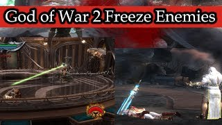 God of War 2 Freeze Enemies Hacked (Part 5)