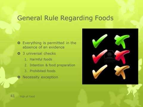 Fiqh of Food 10 - Halaal & Haraam Animals (1)