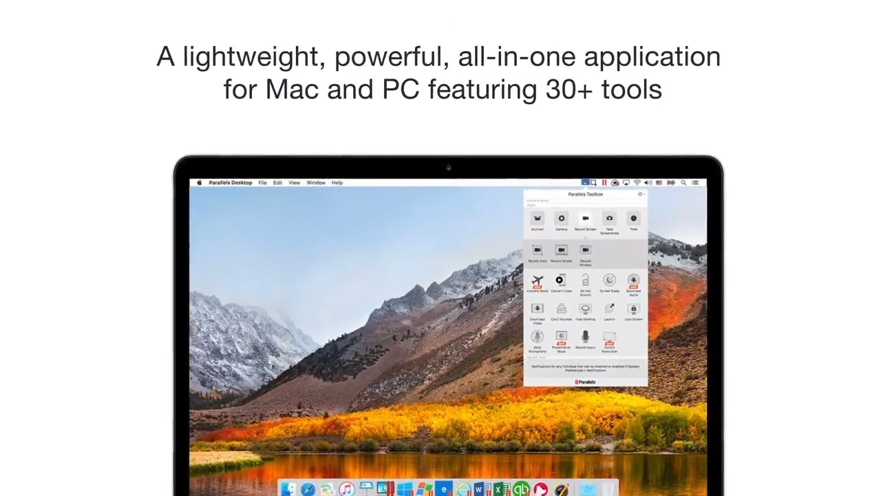 30+ Essential Apps Toolkit for MacOS and Windows – Parallels Toolbox