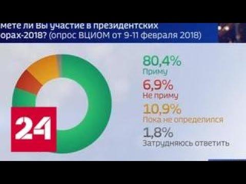 Социологи прочат второе место на выборах Грудинину или Жириновскому - Россия 24