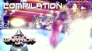Ninja Warrior UK 2017 Splash Compilation 💦  | Ninja Warrior UK