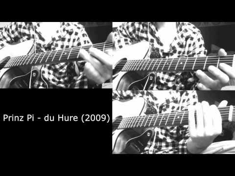 Prinz Pi - Du Hure 2009 (guitar Riff)