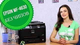 Принтер без чипов: обзор Epson WF-4630
