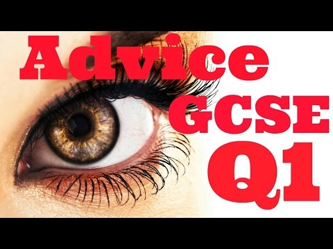 Last Minute Advice on Question 1 Paper 2 Cambridge IGCSE 0522 and 0500