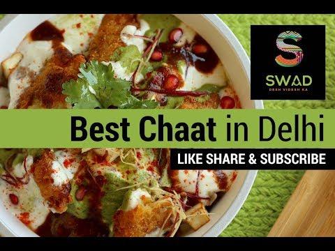 Best Papdi Chaat In Delhi   Raju Chaat Bhandar   Golgappe   Street Food   Ashok Vihar   Must Eat