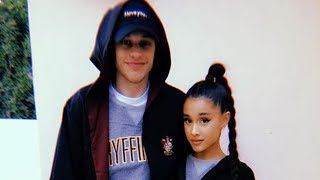 Ariana Grande & Pete Davidson Take Relationship To The Next Level W/ MATCHING 'Harry Potter' Outfits