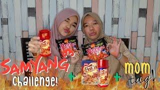 Samyang Challenge + Bon Cabe & Mom Tag!    Nada Syifaa