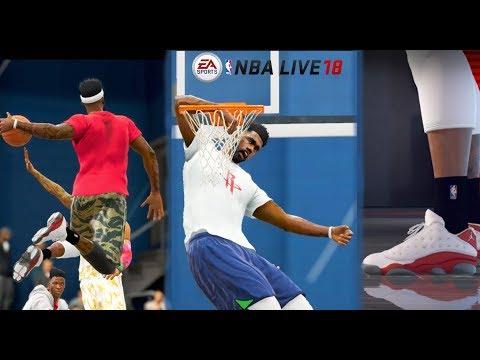 NBA Live 18 3v3 Gameplay - Insane Dunks and 21 Point Challenge!