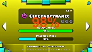 Скачать Geometry Dash Electrodynamix 98 All Coins