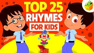 Top 25 Rhymes for Kids | Non Stop Compilation | Magicbox English