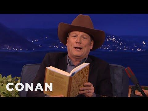 Andy Daly Is Dalton Wilcox, Cowboy Poet  - CONAN on TBS