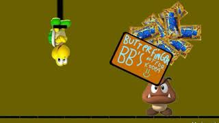 A Koopa's torture nightmare super mario Butterfinger bb's commercial