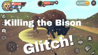 WildCraft: Killing the Bison // [Glitch/Without getting hurt] // Battle Arena