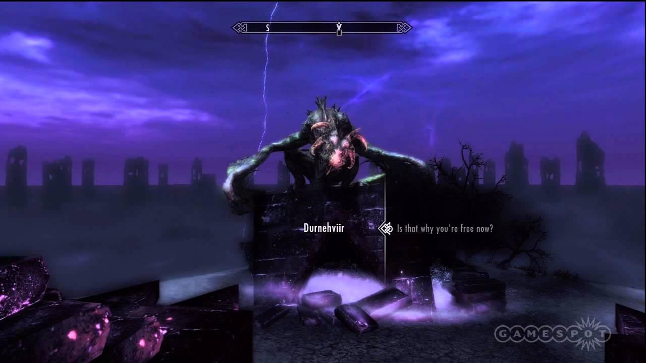 skyrim dawnguard how to get your soul back