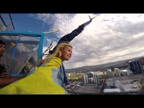 Angeline Rose Troy Jumps off the Stratosphere