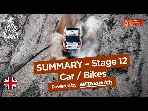 Summary - Car/Bike - Stage 12 (Fiambalá / Chilecito / San Juan) - Dakar 2018