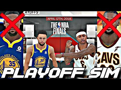 EVERY TEAM LOSES THEIR BEST PLAYER IN THE 2018 PLAYOFF SIMULATION ON NBA2K18!!!