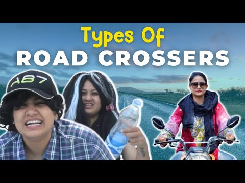 Types Of People While Crossing Road | Captain Nick