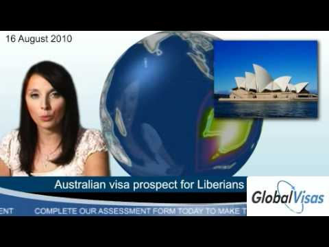 Australian visa prospect for Liberians