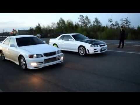 Nissan Skyline Rb26dett 2wd Mt Vs Toyota Chaser 1jz-gte At