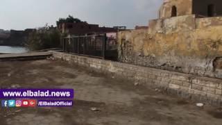 عين الصيرة من 'بحيرة'  لشفاء المرضى لـ'مستنقع قمامة' يغزو المقابر..فيديو وصور