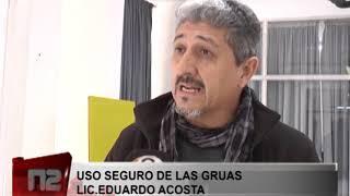 USO SEGURO DE LAS GRUAS  LIC EDUARDO ACOSTA