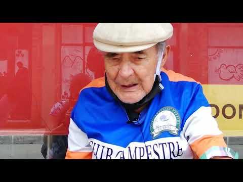 En video. Abuelo rompe la cuarentena por falta de ayudas