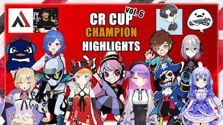 CR Cup vol 6. 1st AlphaAzur Team [AnotherGamePredator] 2nd Mondo Team [MochimochiMantaMaria] 3rd Wokka Team [Flamingo Team] 4th Zeder Team ...