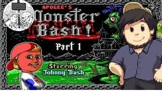 [JonTron] Monster Bash Starrin' Johnny Dash - JonTron [RUS VO]