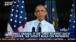 Бе-бе-бе Обамы, когда во время выступления сломался телесуфлёр