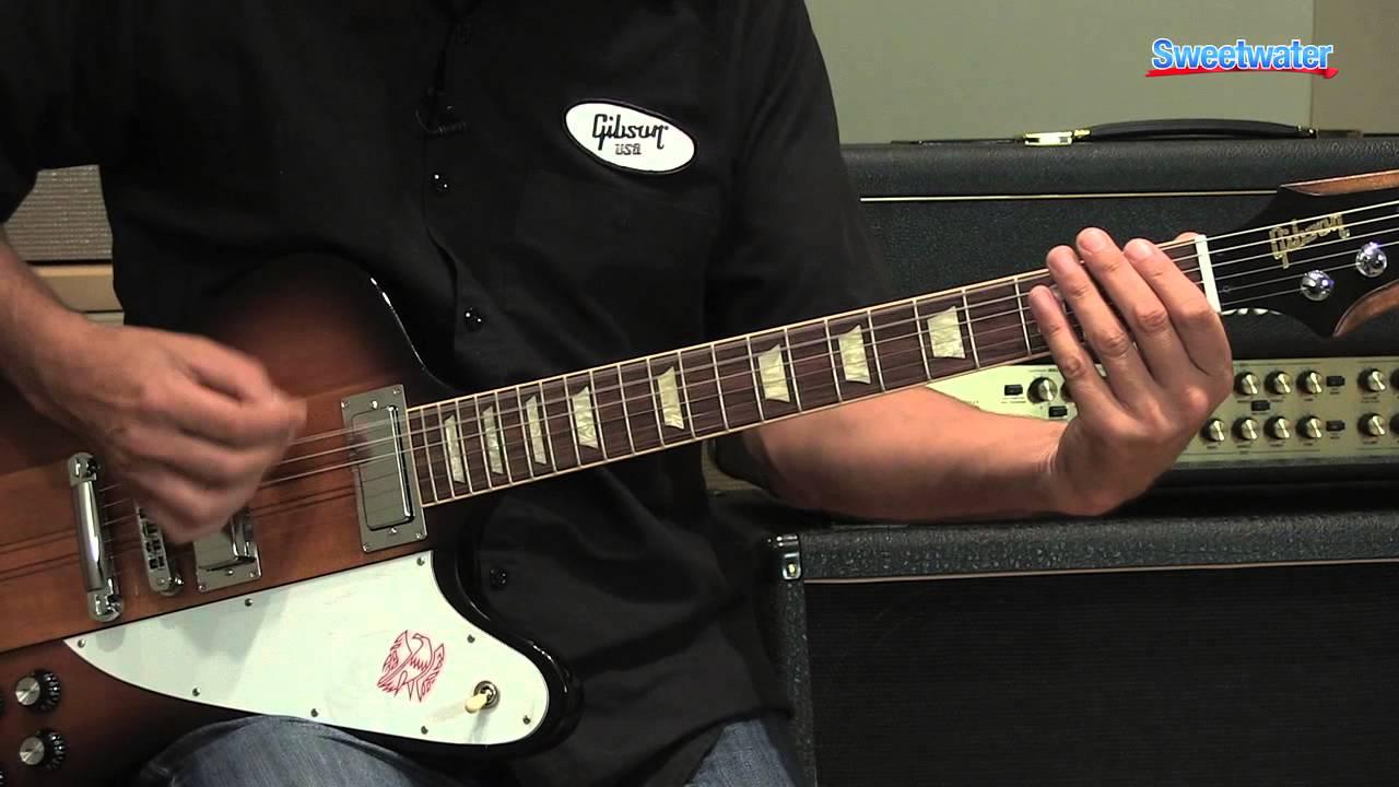 Gibson Firebird Electric Guitar Demo Sweetwater Sound Youtube