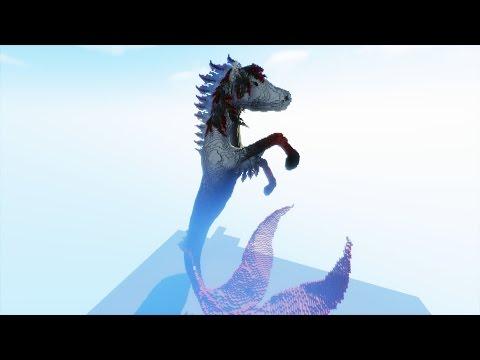 Minecraft- HIPPOCAMPUS Timelapse