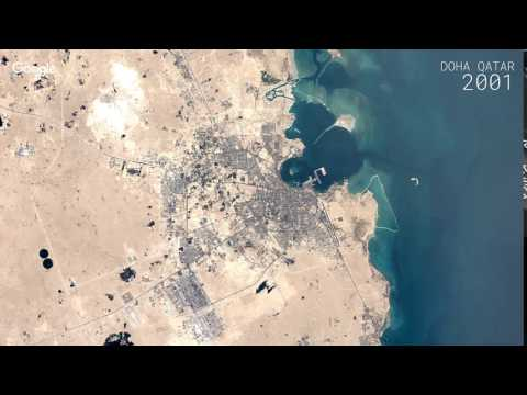 Google Timelapse: Doha, Qatar
