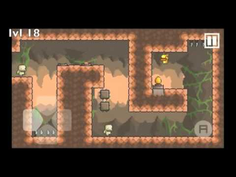 Gravity Duck all levels (Forest, Underground & Mountain)
