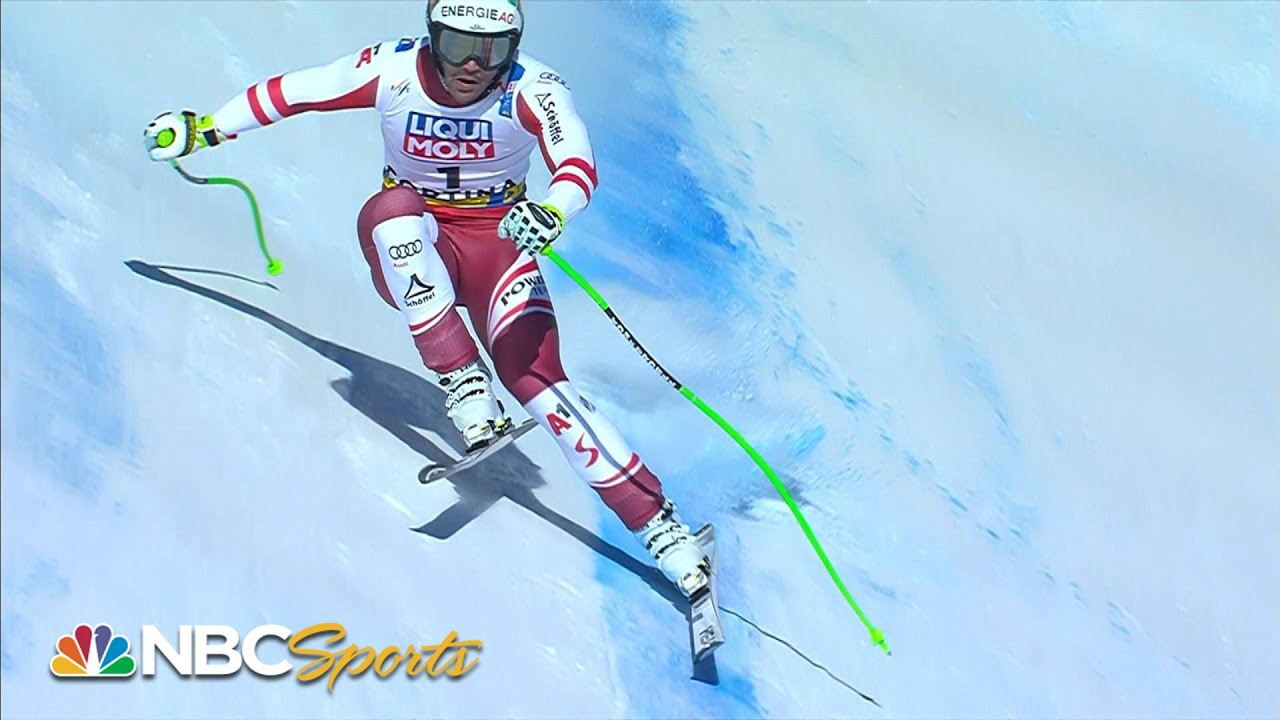 Vincent Kriechmayr wins men's downhill by 0.01 seconds in Cortina | NBC Sports
