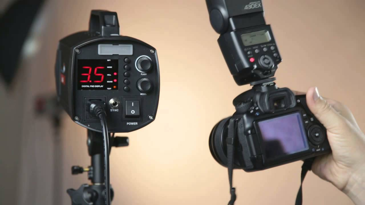 Синхронизатор в фотостудии для чего